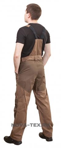 Костюм «Купер» (ткань: хлопок 100%, цвет: коричневый) PAYER